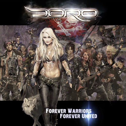 Doro - Forever Warriors // Forever United (2018) 320 KBPS